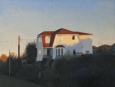Luz del atardecer|PinturadeOrrite| Compra arte en Flecha.es