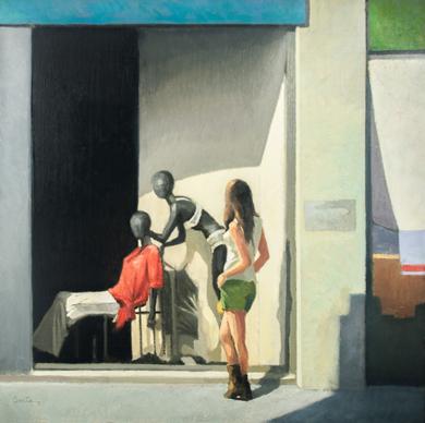 Escaparate IV|PinturadeOrrite| Compra arte en Flecha.es