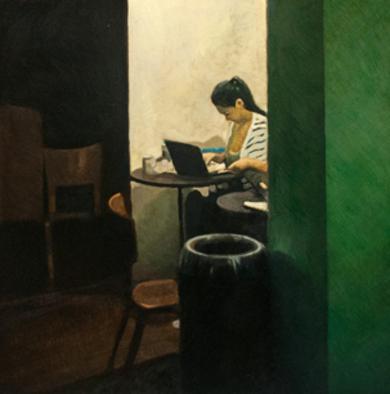 El rinconcito|PinturadeOrrite| Compra arte en Flecha.es