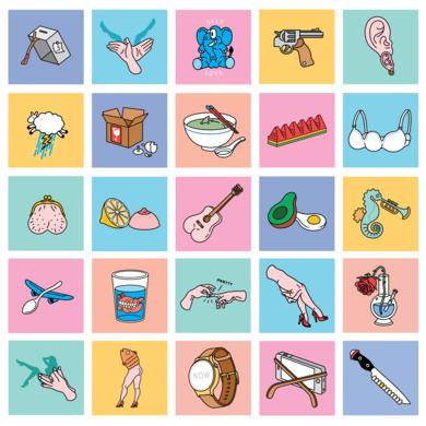 Little Frames|DibujodeLouis Grosperrin| Compra arte en Flecha.es