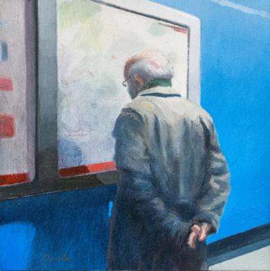 Mirando el mapa|PinturadeOrrite| Compra arte en Flecha.es