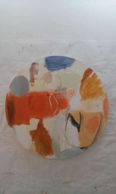 Round and round|PinturadeEduardo Vega de Seoane| Compra arte en Flecha.es