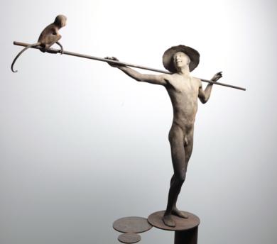 XIX|EsculturadeJavier de la Rosa| Compra arte en Flecha.es