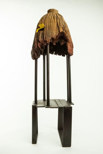 CABAÑA AMARILLO|EsculturadeJavier de la Rosa| Compra arte en Flecha.es