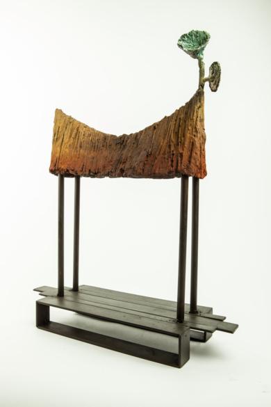 CABAÑA TEMPLO|EsculturadeJavier de la Rosa| Compra arte en Flecha.es