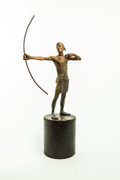 AMAZÓN ARQUERO|EsculturadeJavier de la Rosa| Compra arte en Flecha.es