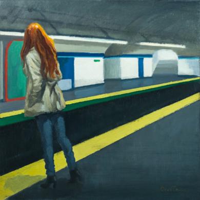 Impaciente|PinturadeOrrite| Compra arte en Flecha.es