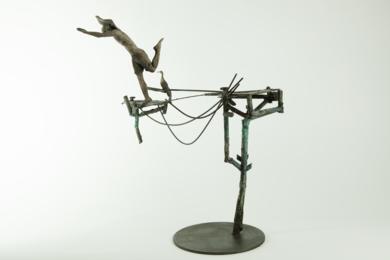 SÔNG SALTANDO|EsculturadeJavier de la Rosa| Compra arte en Flecha.es
