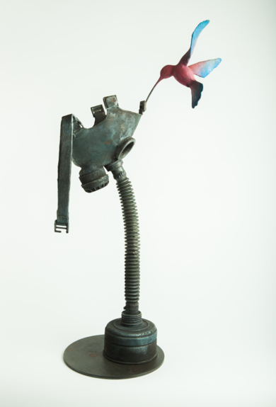 WAR FLOWER|EsculturadeJavier de la Rosa| Compra arte en Flecha.es