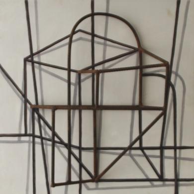 Constelación I|Escultura de pareddeManuel Sánchez-Algora| Compra arte en Flecha.es