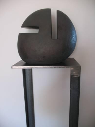 Opus 532 - Cabeza|EsculturadeAlberto Bañuelos| Compra arte en Flecha.es