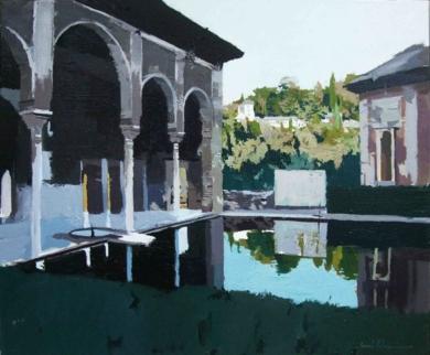 Palacio de Yusuf III|PinturadeGonzalo Rodríguez| Compra arte en Flecha.es