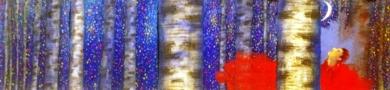 Esta noche en el bosque a las 11|PinturadeEl Hortelano| Compra arte en Flecha.es