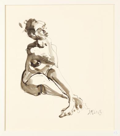 Abajo a la Izquierda|DibujodeJaelius Aguirre| Compra arte en Flecha.es
