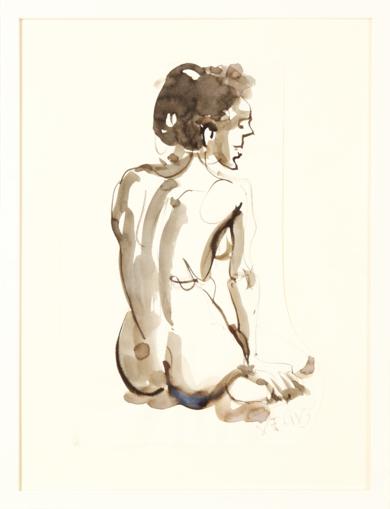 Abajo a la Derecha|DibujodeJaelius Aguirre| Compra arte en Flecha.es