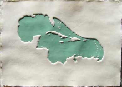 Golfo de Mejico y Mar Caribe XIII|Obra gráficadeJaelius Aguirre| Compra arte en Flecha.es