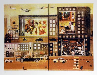 Experiment in Berlin|CollagedePanos Antonopoulos| Compra arte en Flecha.es