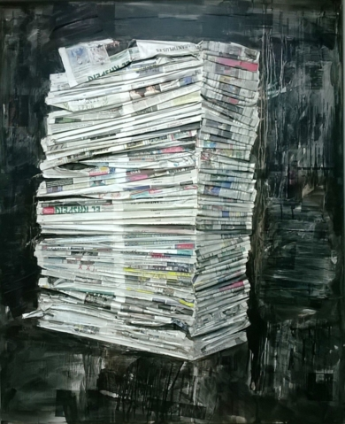 La historia de nuestra cotidianidad|PinturadeMuz Martínez| Compra arte en Flecha.es