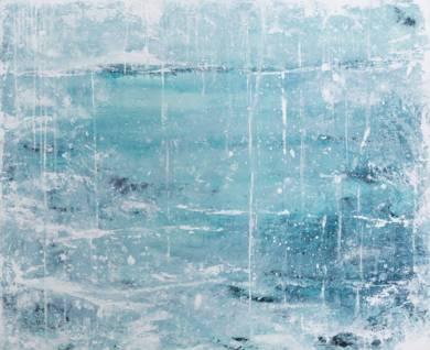 Serie: Un Lugar Helado_ Ice Storm|PinturadeLucia Garcia Corrales| Compra arte en Flecha.es
