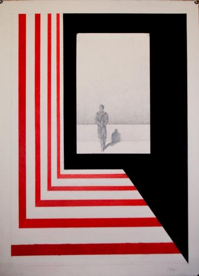 Observando 20|DibujodeSonia Alonso| Compra arte en Flecha.es
