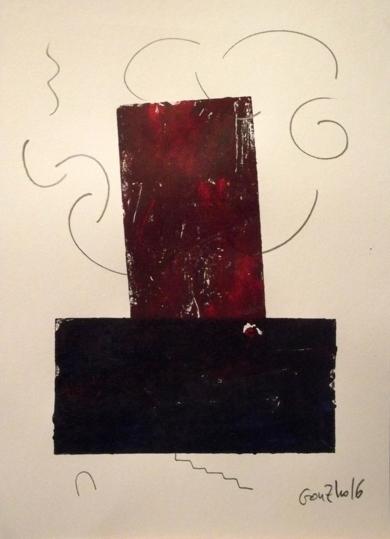 Retrato de fabrica II|PinturadeGonzho| Compra arte en Flecha.es