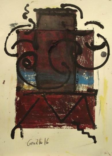 Retrato de fabrica XI|PinturadeGonzho| Compra arte en Flecha.es