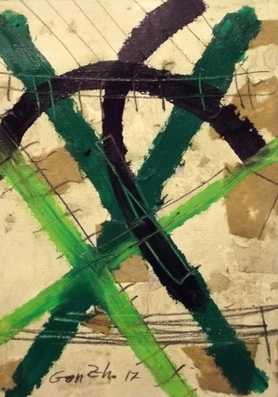 Codigo VII|PinturadeGonzho| Compra arte en Flecha.es
