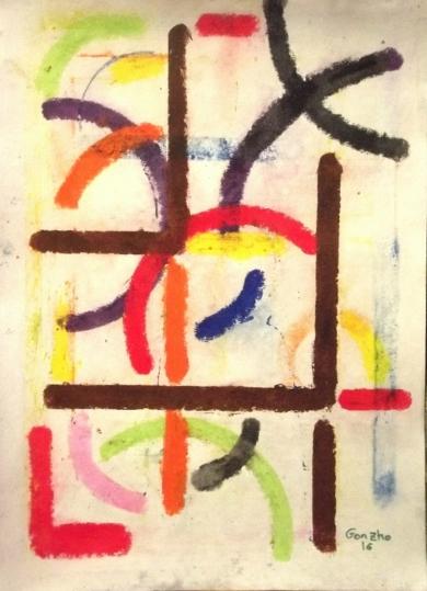 Patrón X|PinturadeGonzho| Compra arte en Flecha.es
