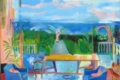Dalla finestra di Rosi|PinturadeIria| Compra arte en Flecha.es