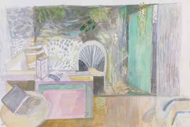 Maison paisible|DibujodeIria| Compra arte en Flecha.es