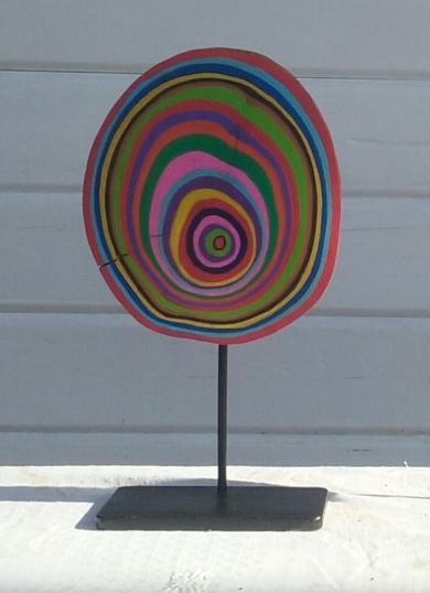 Boomerang|EsculturadeJohnny Dominguez| Compra arte en Flecha.es