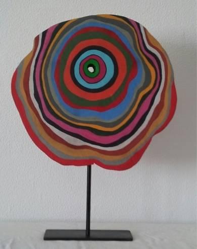 Flor|EsculturadeJohnny Dominguez| Compra arte en Flecha.es