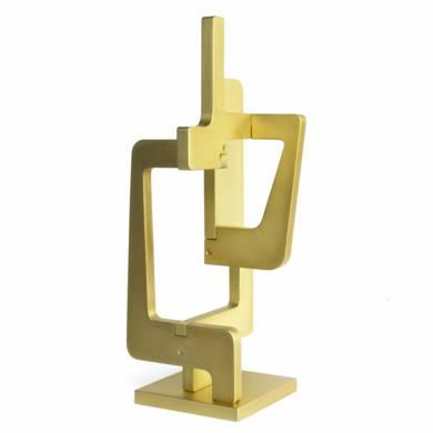 INDUSTRIAL GOLD|EsculturadeCandela Muniozguren| Compra arte en Flecha.es