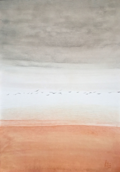Horizontes 1|DibujodeMilena Mateva| Compra arte en Flecha.es