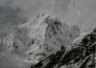 Snow n1|PinturadeCalo Carratalá| Compra arte en Flecha.es
