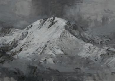 Snow nº2|PinturadeCalo Carratalá| Compra arte en Flecha.es