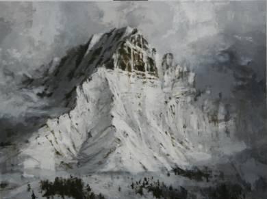 Snow n 3|PinturadeCalo Carratalá| Compra arte en Flecha.es