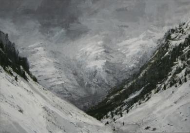 Snow n 5|PinturadeCalo Carratalá| Compra arte en Flecha.es