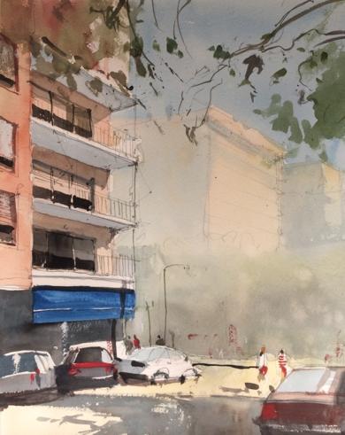 Terrazas|PinturadeIñigo Lizarraga| Compra arte en Flecha.es