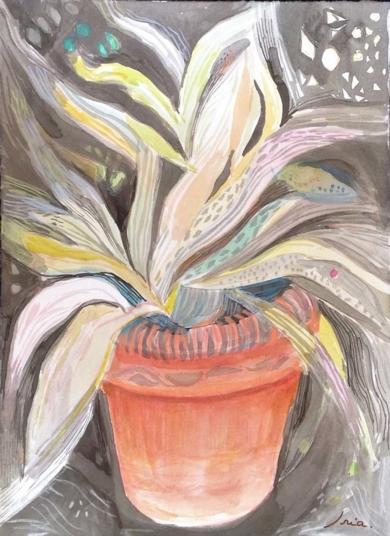 plante magique|DibujodeIria| Compra arte en Flecha.es