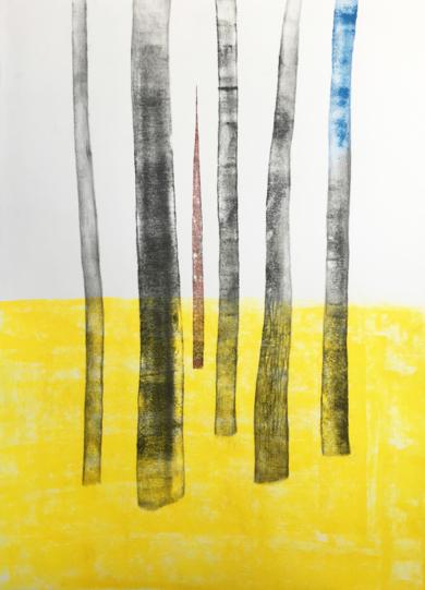 Arboles 3|Obra gráficadeMilena Mateva| Compra arte en Flecha.es