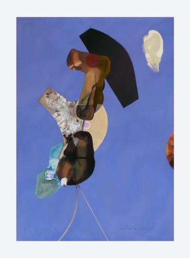 Balerina.  Serie de figuras abstractas (2)|CollagedeRaul Eberhard| Compra arte en Flecha.es