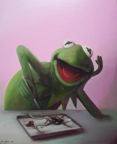 Conociendose a si misma. PinturadeJoseSalguero  Compra arte en Flecha.es
