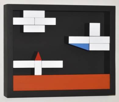 Móvil Interactivo   0181 Posición  A CollagedeManuel Izquierdo  Compra arte en Flecha.es