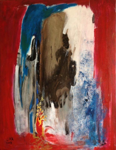 Cascada  Áfricana|PinturadeLika| Compra arte en Flecha.es