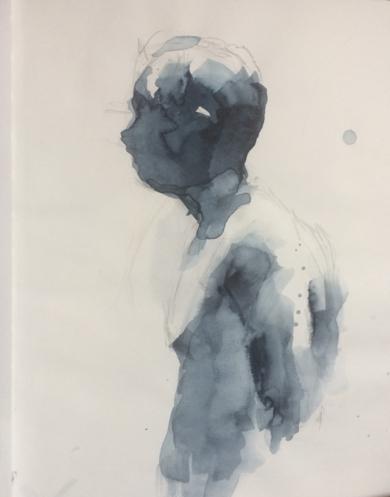 Ricardo desnudo|DibujodeAlvaro Sellés| Compra arte en Flecha.es