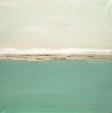 Descansando en un mar azul y profundo|PinturadeEsther Porta| Compra arte en Flecha.es