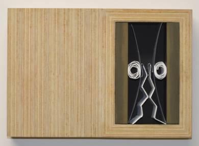 CP  Nº  0110|Escultura de pareddeManuel Izquierdo| Compra arte en Flecha.es