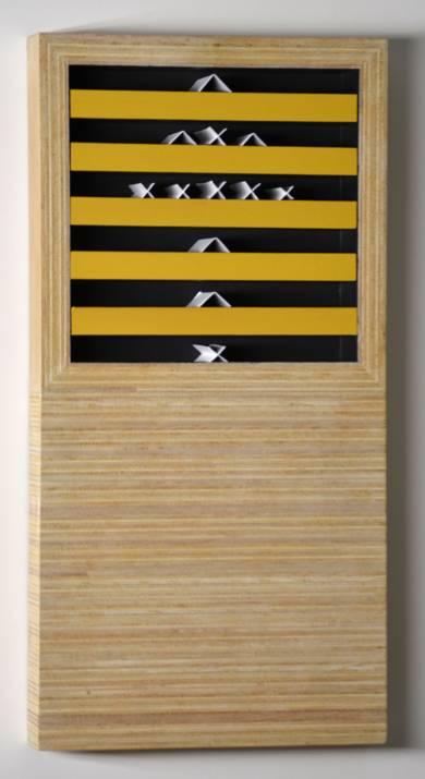 Compartblok 117|Escultura de pareddeManuel Izquierdo| Compra arte en Flecha.es