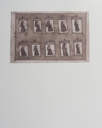 El dormitorio de las monjitas|Obra gráficadeAna Valenciano| Compra arte en Flecha.es